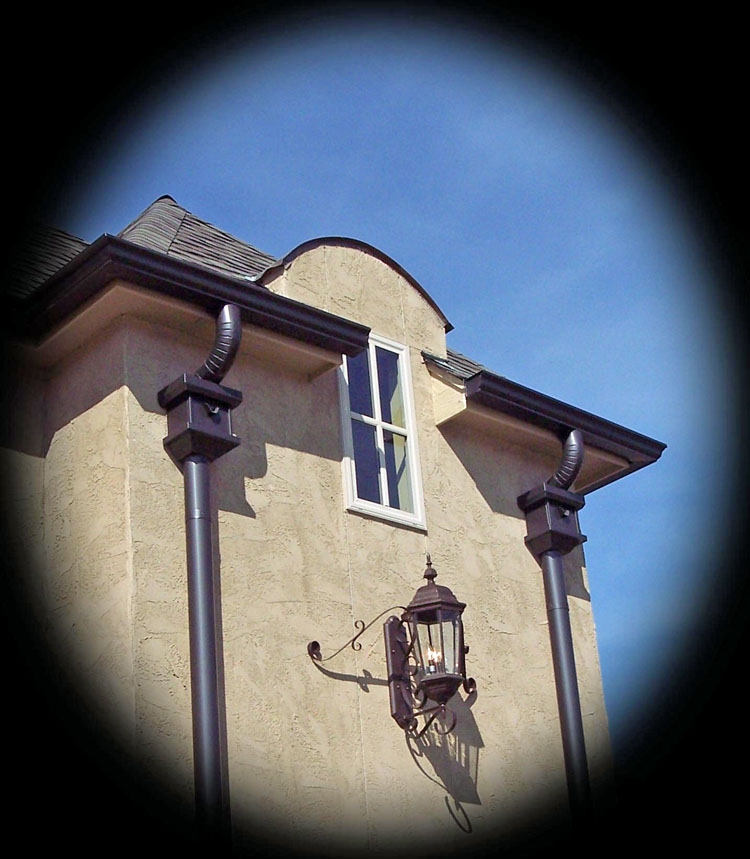 Rooftop Suppliers Seamless Gutter Contractors